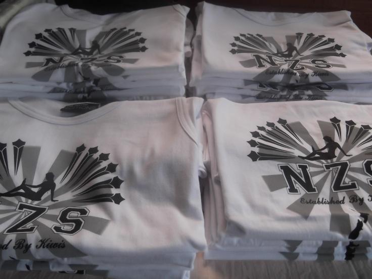 NEW NZS Clothing T-Shirts